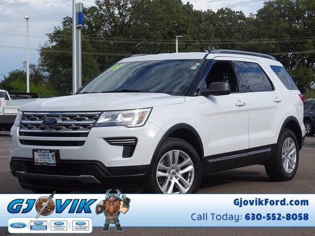 used 2018 Ford Explorer car, priced at $33,666