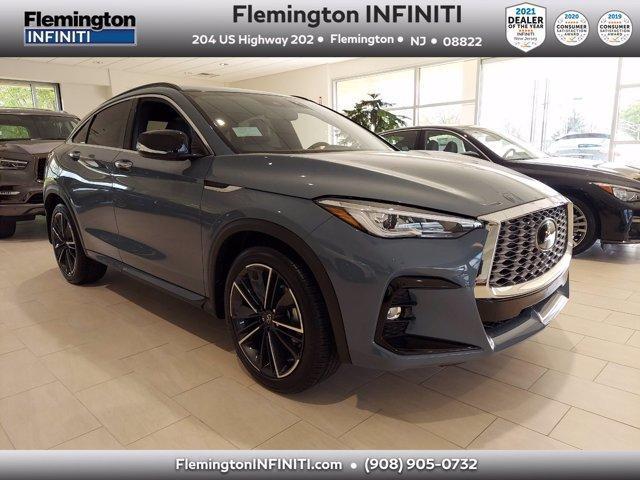 new 2022 INFINITI QX55 car, priced at $48,795