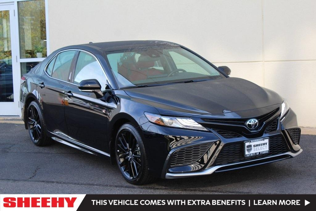 used 2021 Toyota Camry car, priced at $35,499