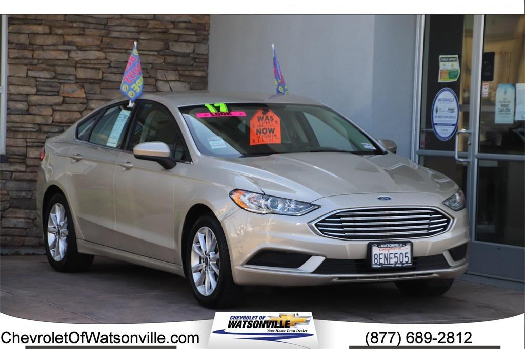 used 2017 Ford Fusion car, priced at $17,791