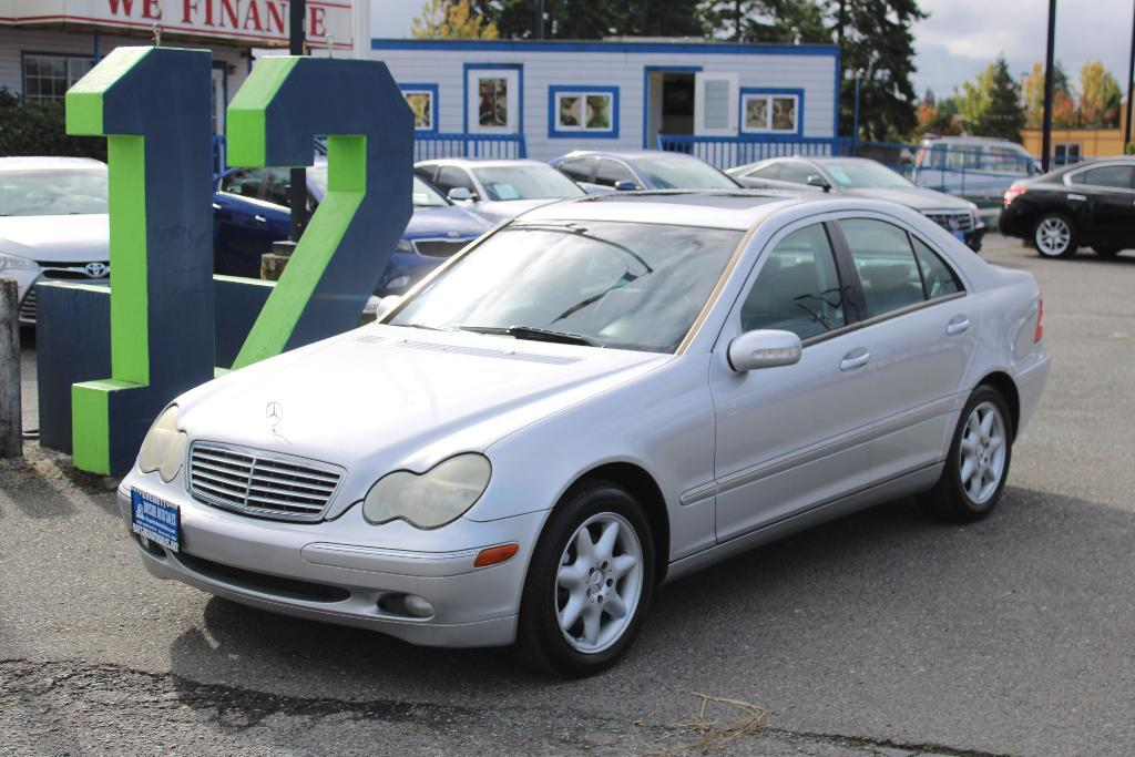 used 2004 Mercedes-Benz C-Class car, priced at $5,499
