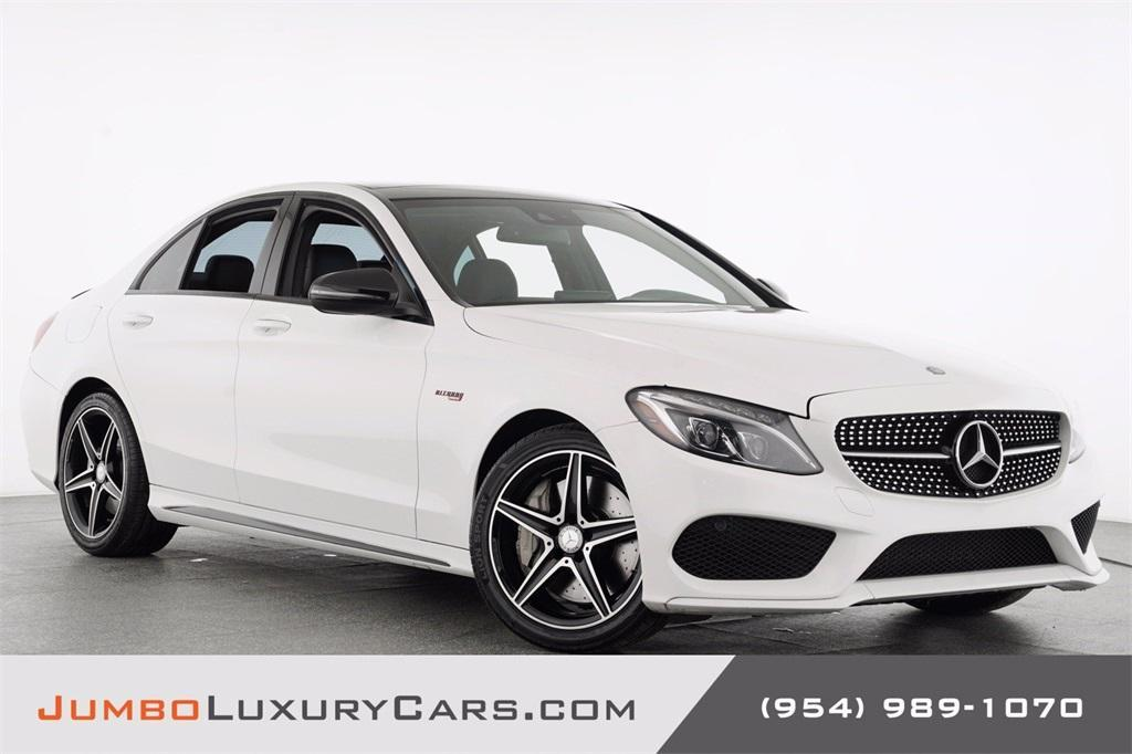 used 2016 Mercedes-Benz C-Class car, priced at $32,888