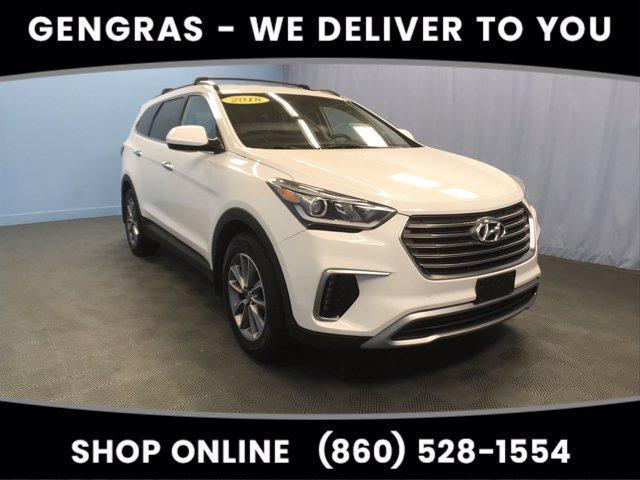 used 2018 Hyundai Santa Fe car, priced at $24,211