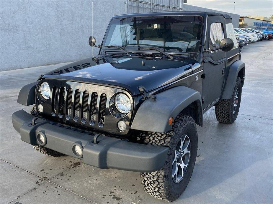 used 2017 Jeep Wrangler car, priced at $17,990