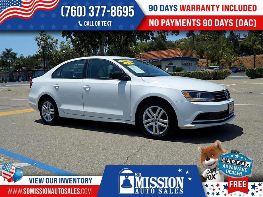 used 2015 Volkswagen Jetta car, priced at $10,995