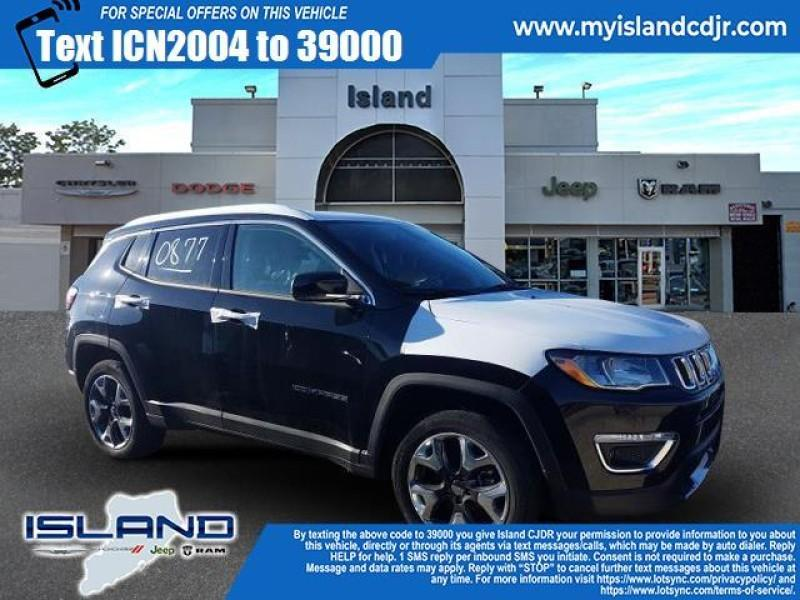 new 2020 Jeep Compass car, priced at $35,105