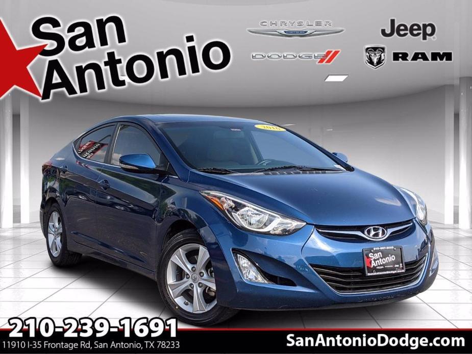 used 2016 Hyundai Elantra car, priced at $14,998