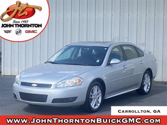 used 2015 Chevrolet Impala Limited car, priced at $11,596