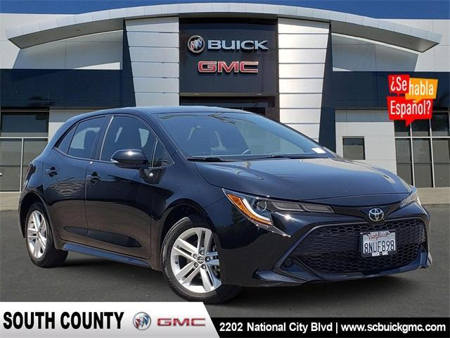 used 2020 Toyota Corolla Hatchback car, priced at $21,977