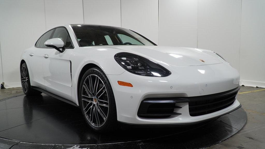 used 2018 Porsche Panamera car, priced at $77,995