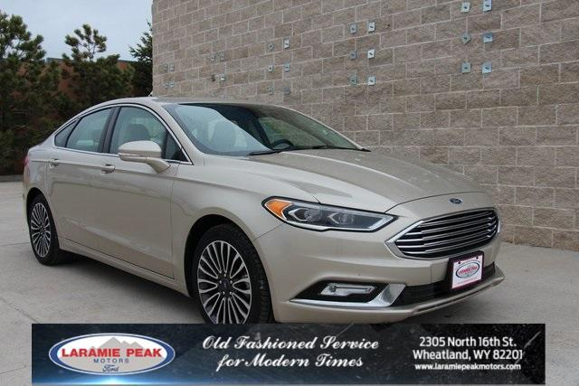 used 2017 Ford Fusion car, priced at $18,528