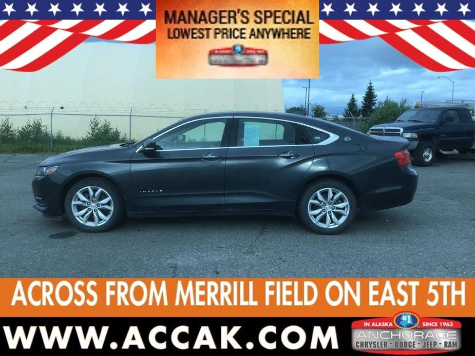 used 2018 Chevrolet Impala car, priced at $23,675