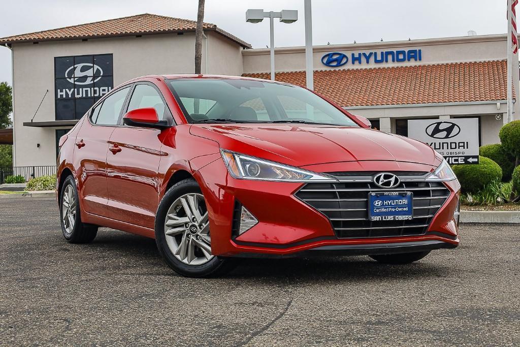 used 2020 Hyundai Elantra car, priced at $18,495