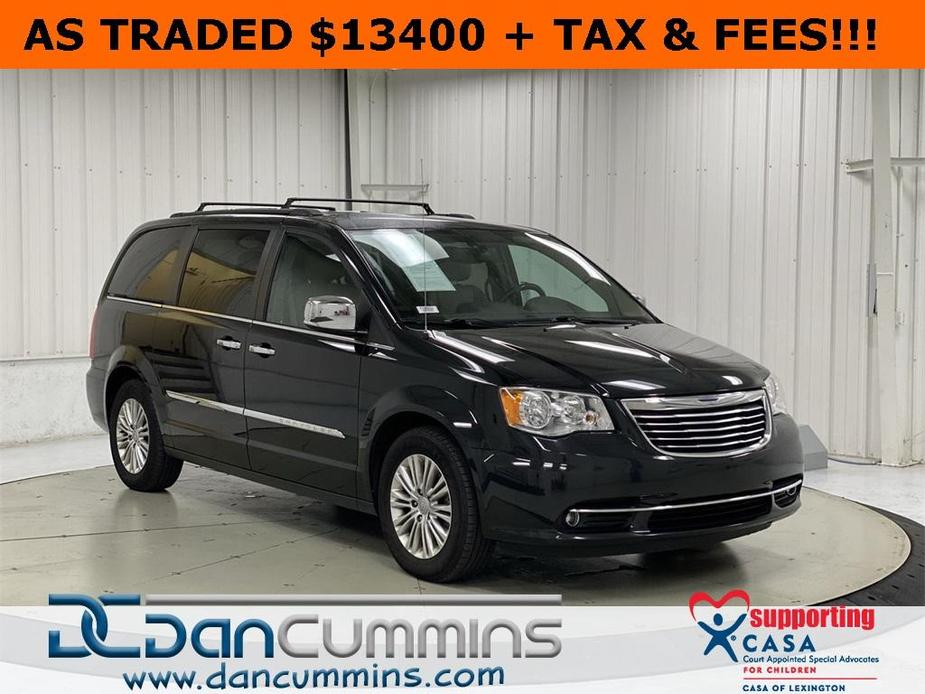 used 2015 Chrysler Town & Country car, priced at $13,400