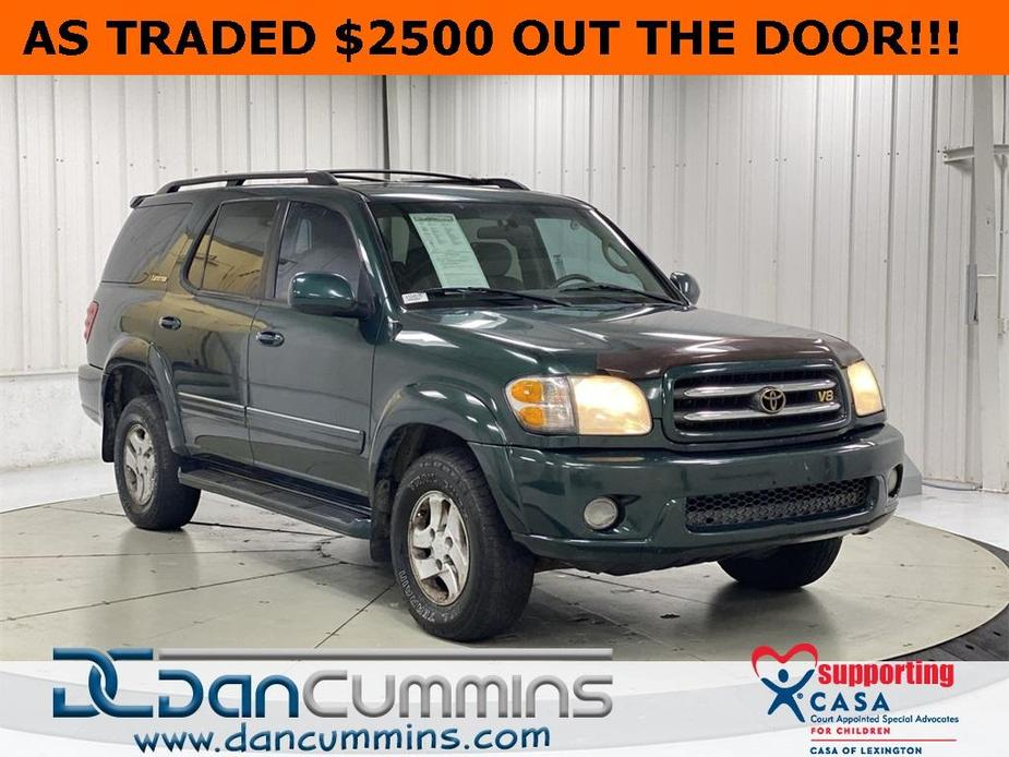 used 2001 Toyota Sequoia car, priced at $2,500