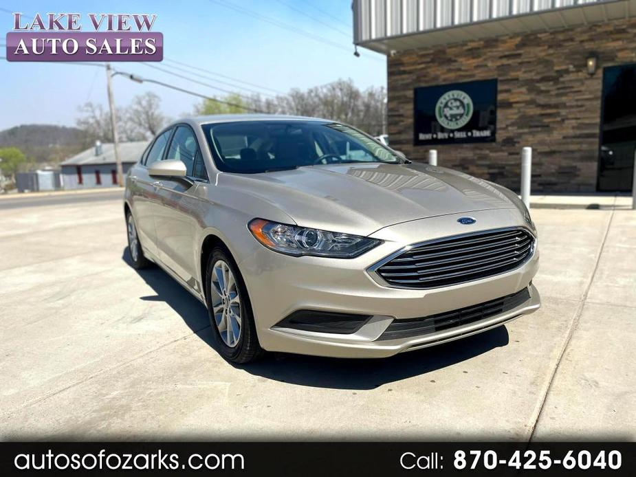 used 2017 Ford Fusion car, priced at $20,900