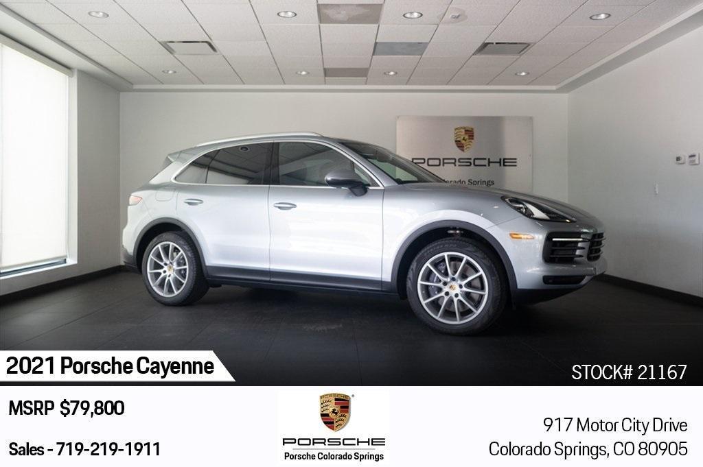 new 2021 Porsche Cayenne car, priced at $79,800