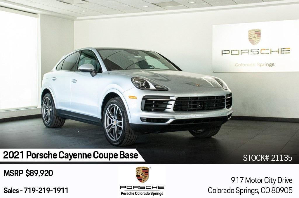 new 2021 Porsche Cayenne car, priced at $85,420