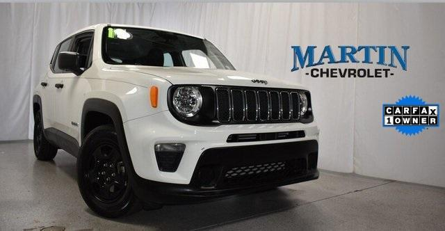 used 2019 Jeep Renegade car, priced at $22,954