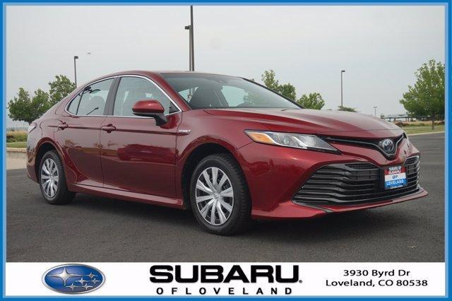 used 2018 Toyota Camry Hybrid car, priced at $25,449