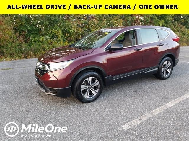 used 2018 Honda CR-V car, priced at $24,800