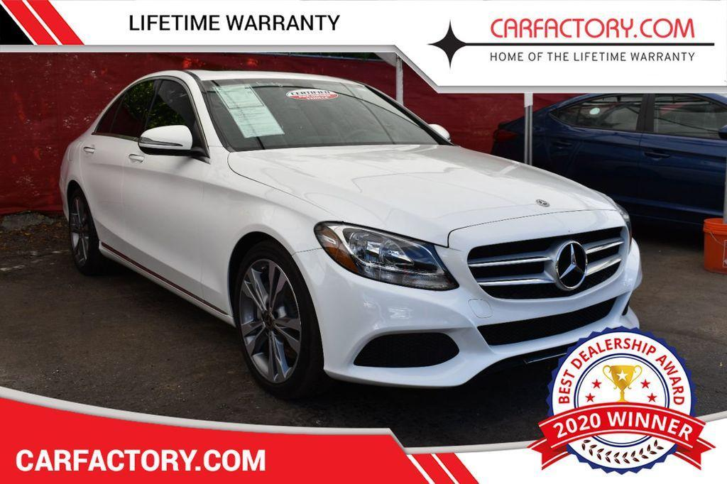 used 2018 Mercedes-Benz C-Class car, priced at $26,191