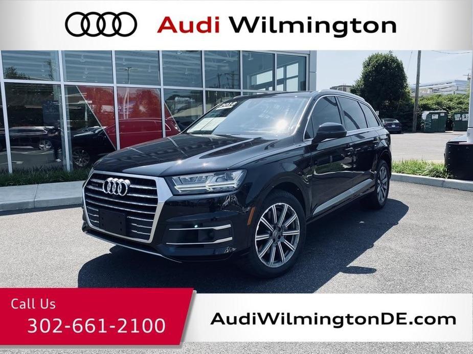 used 2018 Audi Q7 car, priced at $46,109