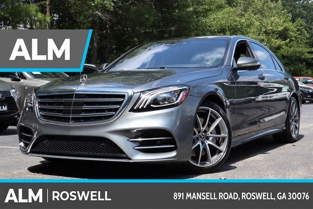 used 2020 Mercedes-Benz S-Class car, priced at $97,966