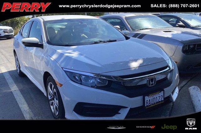 used 2017 Honda Civic car, priced at $18,995