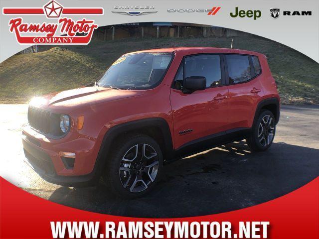 new 2021 Jeep Renegade car