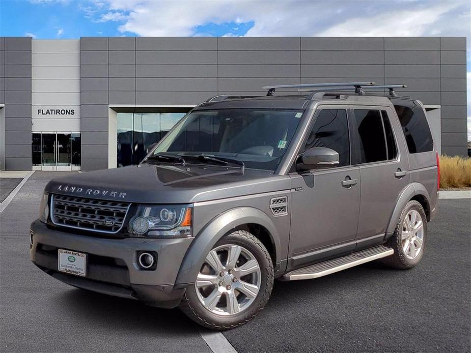 used 2016 Land Rover LR4 car, priced at $44,996