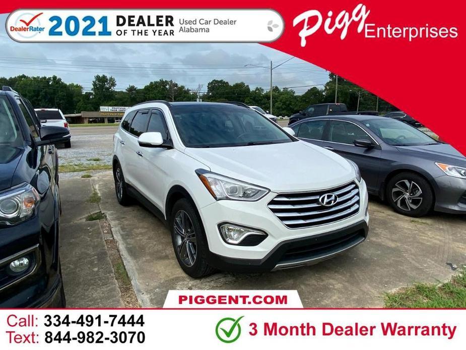 used 2016 Hyundai Santa Fe car, priced at $17,458