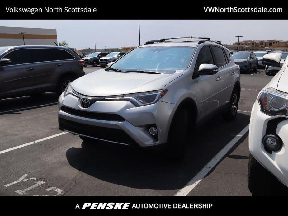used 2017 Toyota RAV4 car, priced at $24,314
