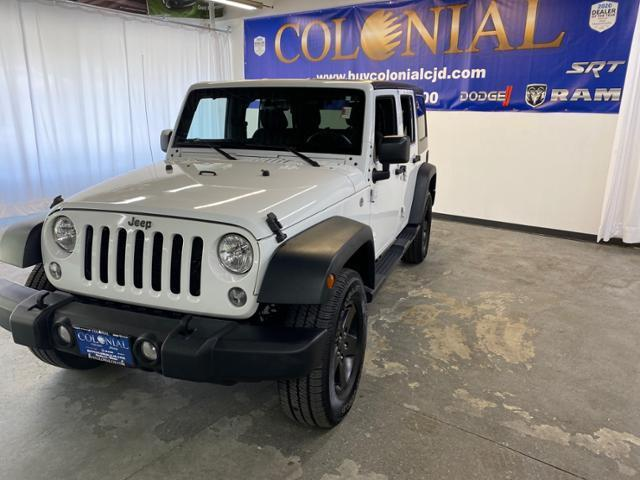 used 2017 Jeep Wrangler Unlimited car, priced at $32,987