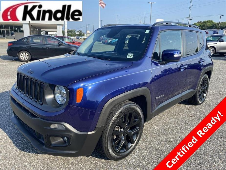 used 2017 Jeep Renegade car, priced at $19,248