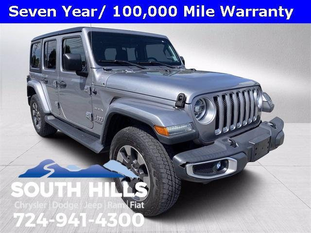 used 2018 Jeep Wrangler Unlimited car, priced at $42,200