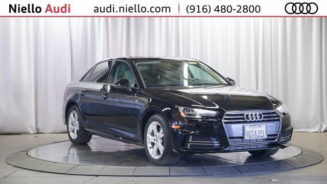 used 2018 Audi A4 car, priced at $28,595