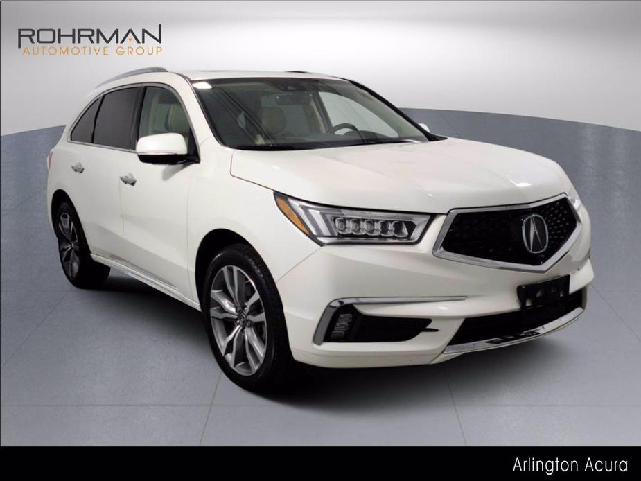 used 2019 Acura MDX car, priced at $41,500