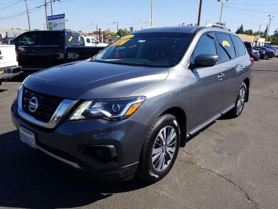 used 2018 Nissan Pathfinder car, priced at $21,998