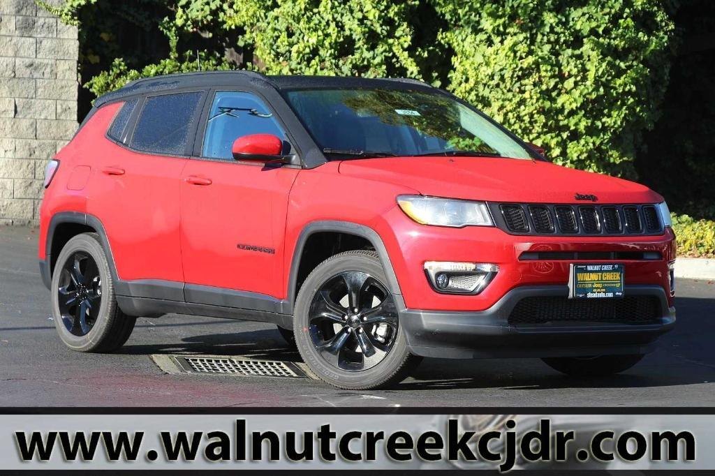 new 2021 Jeep Compass car, priced at $30,675