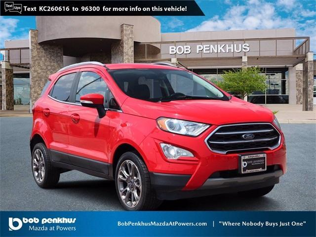 used 2019 Ford EcoSport car, priced at $22,086