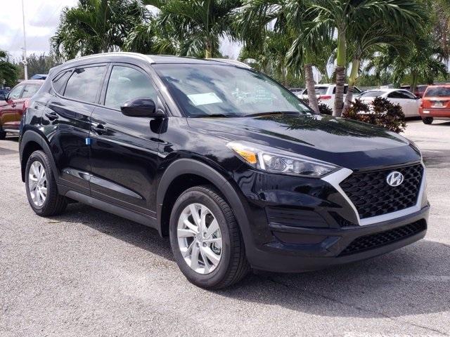 new 2021 Hyundai Tucson car, priced at $23,485