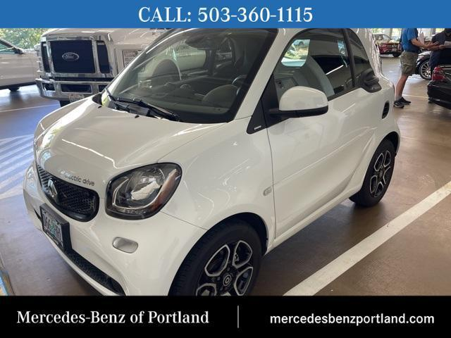 used 2018 smart ForTwo Electric Drive car, priced at $15,495