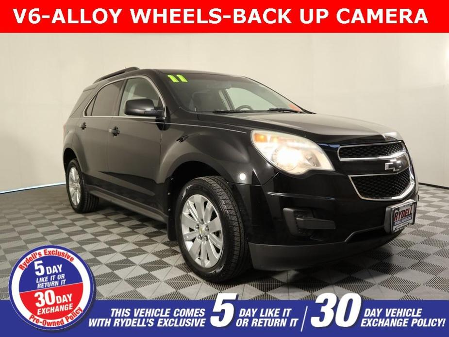 used 2011 Chevrolet Equinox car, priced at $9,626