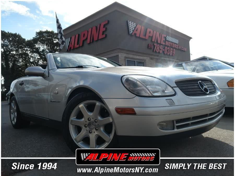 used 1998 Mercedes-Benz SLK-Class car, priced at $9,995