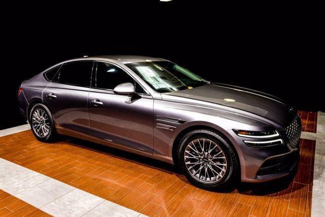 new 2021 Genesis G80 car, priced at $49,245