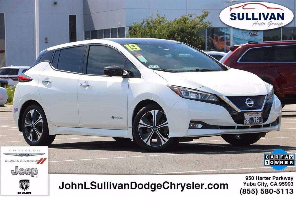 used 2019 Nissan Leaf car, priced at $21,995