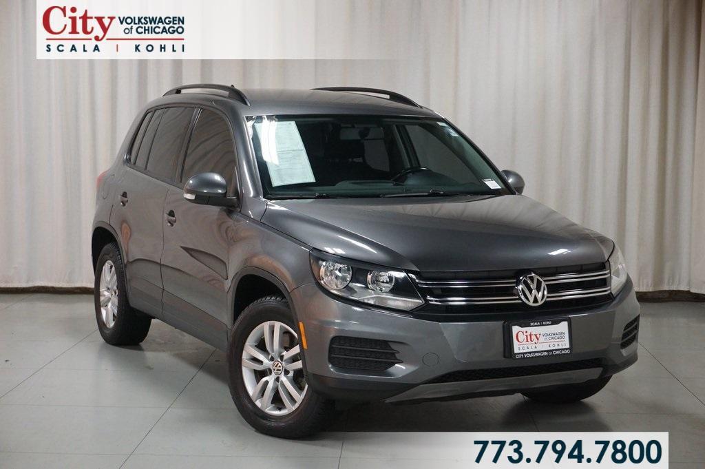 used 2015 Volkswagen Tiguan car, priced at $16,490